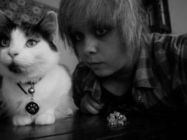 Me and my Baby :3 by Emoislovee