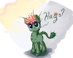 My little Cactus: needles are magic by ScootieBloom