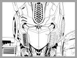 TF Ongoing 23 cover lineart by markerguru