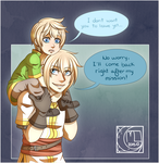 WEBCOMIC- Brothers Bond by Little-Noko