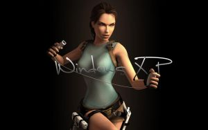Lara Croft Wallpaper 1 by kenrostudio