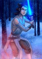 Rey by danidraws