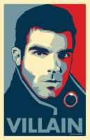 Heroes: Sylar Villian Poster by voltagecreative