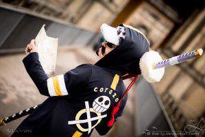 To Green Bit | Trafalgar Law [Dressrosa Arc] III by The-Ly