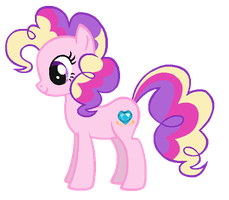 Pinkie Pie in Princess Cadence's colors by ClassicsAreDEAD