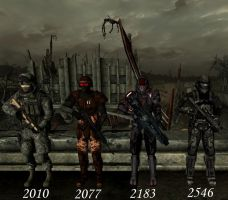 Soldier Timeline 1 - Male by RayneR27