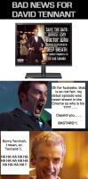 Doctor Who - Bad News for David Tennant by DoctorWhoOne