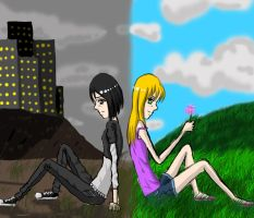 Two Worlds by Flamestar21