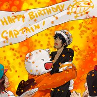 Happy birthday Captain! by ElyonBlackStar