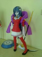 Haqua Papercraft The World God Only Knows by kopianget