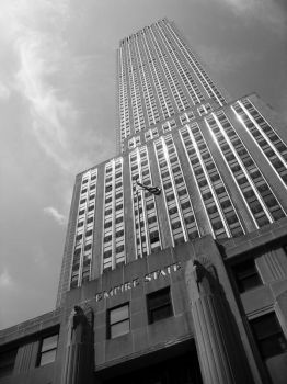 Empire State Building by Katastrophically