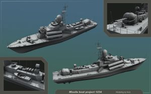 Missile boat project 1234 by Awiz
