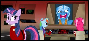 Trixie, I'm Laughing At Your Superior Intellect by Athos01