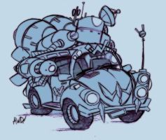 The Wacked Mobile by AndrewDickman