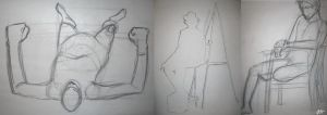Life Drawing Compilation 2 by Chicken008