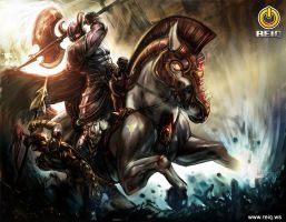 The Rage of the Barbarian by reiq