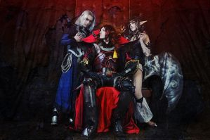 Castlevania - Evil Trio by adelhaid
