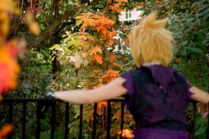 Kingdom Hearts: Halloweentown Roxas IV by xXSnowFrostXx