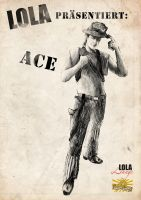 Postapocalyptic Poster: Ace by Meister-Goldfeder