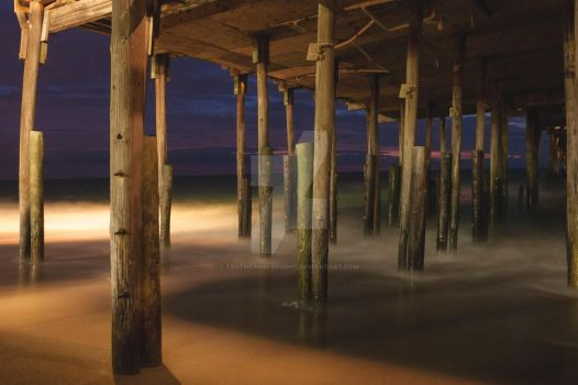 Kitty Hawk Pier by truthcanbebought