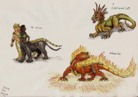 Fantasy creatures... again by Saeros2006