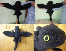 Toothless Plush by TFGlider