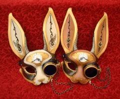 Gentleman Hare masks by merimask