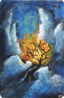 burning bush by quirill