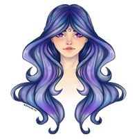 Unicorn Hair by ashestocrows