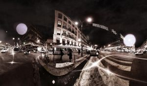 Paris la nuit by binarymind