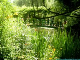 Giverny - The japanese bridge by Cansounofargentina