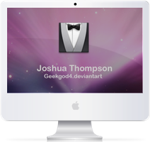 iMac new with Tux by GeekGod4