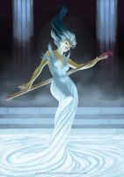 Mistress of the Deep Fountain by Electric-Raygun