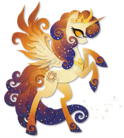 Queen Galaxia Paper Vector by Sleepwalks