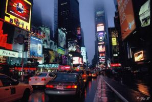 time square by Yair-Leibovich