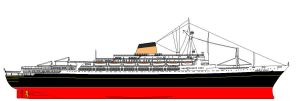 Andrea Doria in ECCL colors by ColinTheP6M