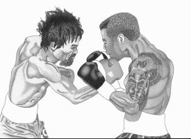 Two Boxers by maecentric