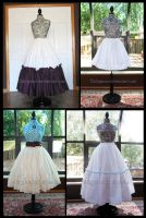 Custom Petticoat Commissions by Caliypsoe