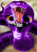 Real Life Arbok by InfinityFangX