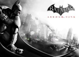 Batman: Arkham City Background by PK-Enterprises