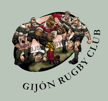 RUGBY mascot 2 by thenota