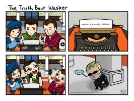 The Truth About Wesker by annetti-spaghetti