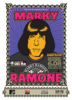 marky ramone poster by taxis