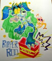 Ripper roo with crash bandicoot by EZstrongs