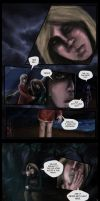 Between Places - three pages by calthyechild