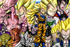 THE BUU SAGA by Ddog04