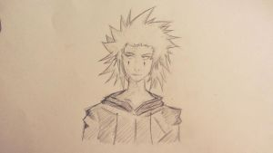 Axel Sketch #2 by Luke0zZz