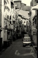 Backalley by nathanieltan