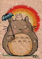 Totoro by Rochioo