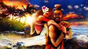 Vaas And Moana (Far Cry 3 + Disney Crossover) by Almesiva-Moonshadow